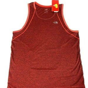The North Face Men's Orange Logo Muscle Shirt